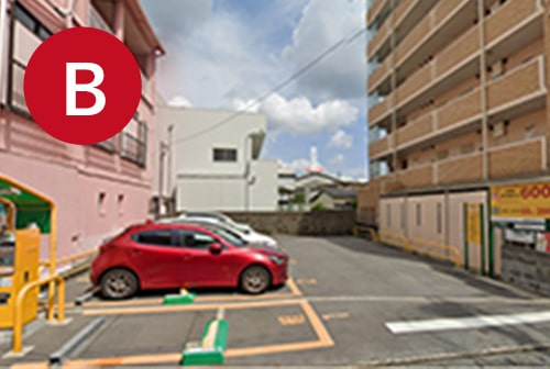 三井のリパーク西鉄久留米駅前駐車場