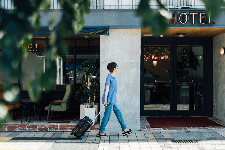 福岡県久留米のホテル